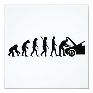 Evolution motor mechanic card