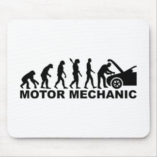 Evolution motor mechanic mouse pad