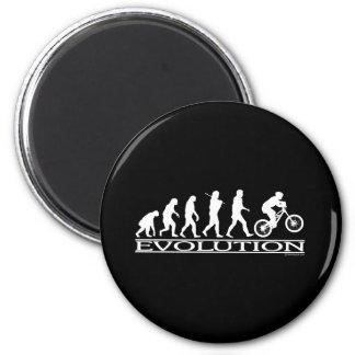 Evolution - Mt Biking 2 Inch Round Magnet