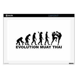 "Evolution Muay Thai 17"" Laptop Skin"