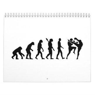 Evolution Muay Thai Calendar