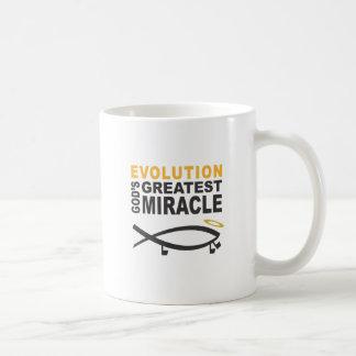 Evolution Classic White Coffee Mug