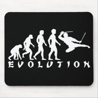 evolution Ninja Black Mouse Pad