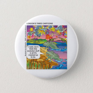 Evolution Not So Great Funny GiftsTees Collectible Pinback Button