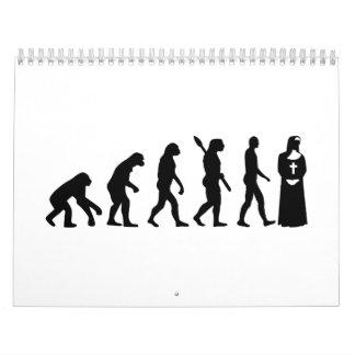 Evolution Nun Wall Calendars