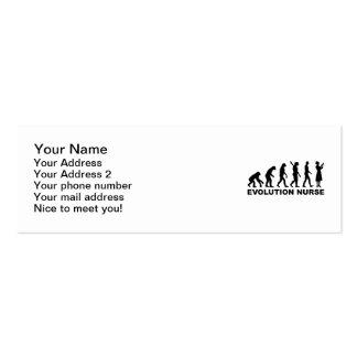 Evolution Nurse Business Card Templates