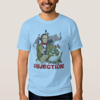Evolution Objection! T Shirts