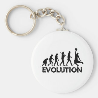 Evolution of a Basketball Player Basic Round Button Keychain