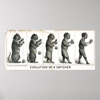 Evolution of a Cat-cher Print