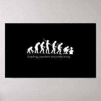 Evolution of a Coder Poster