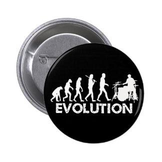 Evolution of a Drummer Pinback Button
