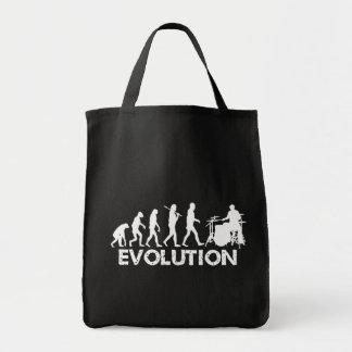 Evolution of a Drummer Tote Bag