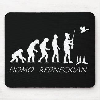 Evolution of a Redneck Mousepad mousepad