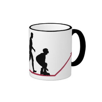 Evolution of a Skater Ringer Coffee Mug