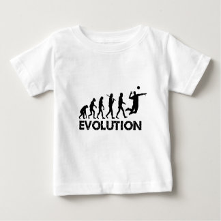 Evolution of a Volleyball Player Baby T-Shirt