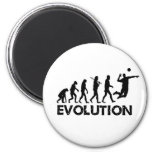 Evolution of a Volleyball Player Magnet