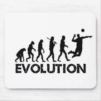 Evolution of a Volleyball Player Mouse Pad