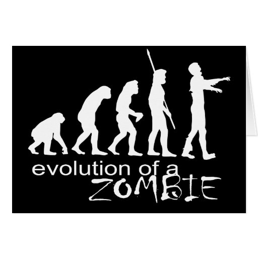 evolution of a zombie card