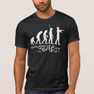 evolution of a zombie T-Shirt