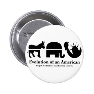 Evolution of an American Pinback Button