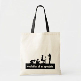 """Evolution of an Apostate"" Tote Bag"