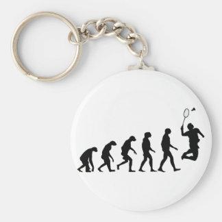 Evolution of Badminton Keychain