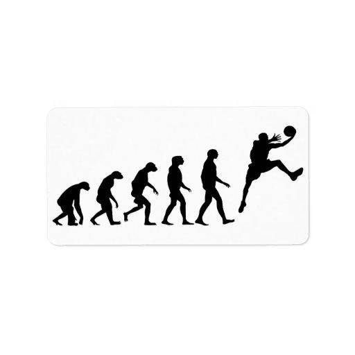 Evolution of Basketball Label