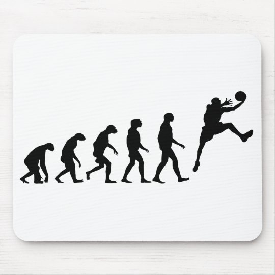 Evolution of Basketball Mouse Pad