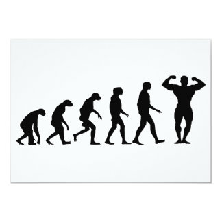 Evolution of Bodybuilding Card