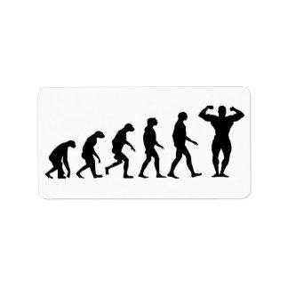 Evolution of Bodybuilding Label