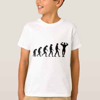 Evolution of Bodybuilding T-Shirt