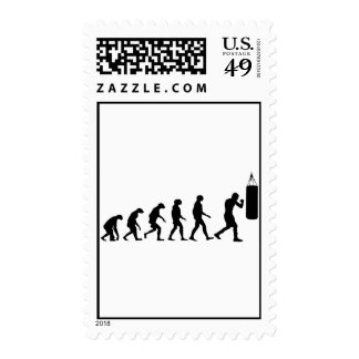 Evolution of Boxing Postage