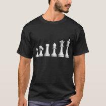 Evolution of Chess Dark TShirt