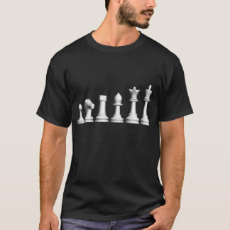 Evolution of Chess Dark TShirt