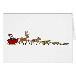 Evolution of Christmas Greeting Card