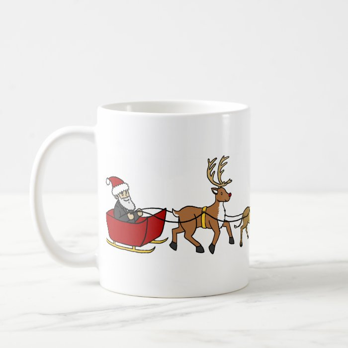 Evolution of Christmas Coffee Mug