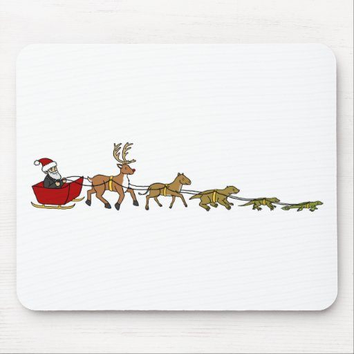 Evolution of Christmas Mousepads