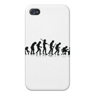 Evolution of Computer Addicts Case For iPhone 4