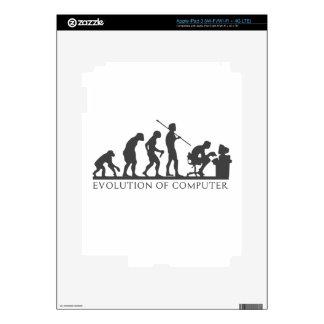 EVOlution OF COMPUTER iPad 3 Decals