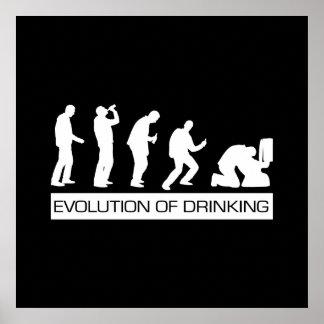 Evolution of Drinking Print