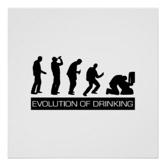 Evolution of Drinking Posters