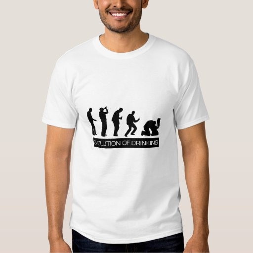 Evolution of Drinking Tee Shirt