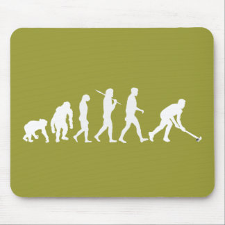 Evolution of Field hockey - Hockey gifts Mouse Pad