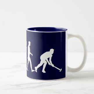 Evolution of Field hockey - Hockey gifts Mugs