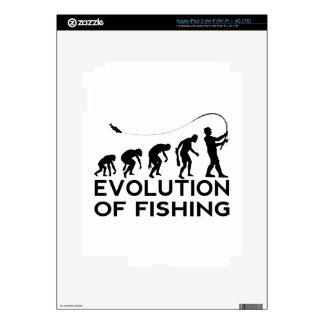 evolution of fishing iPad 3 skins