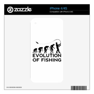 evolution of fishing skins for the iPhone 4S