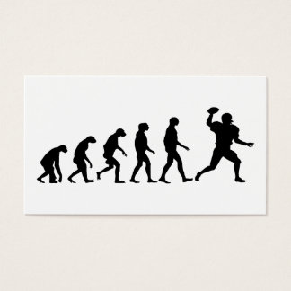 Evolution of Football Business Card