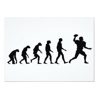 Evolution of Football Card