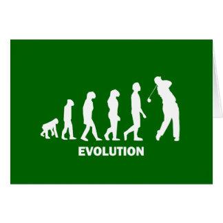 evolution of golf greeting cards