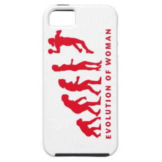 evolution of handball woman funda para iPhone 5 tough